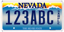Sample plates sam farley plates for Department of motor vehicles carson city nevada